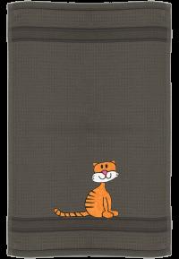 Katze Schnurrli auf antrazith