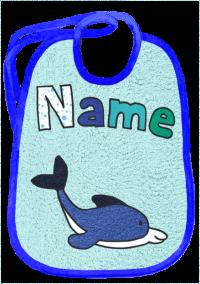 Delfin auf aqua