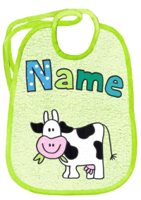 Kuh auf lindengrün